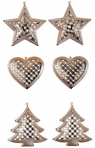 INGE-GLAS ® Pakabinamos dekoracijos iš metalas 6...