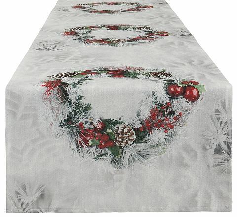 Weihnachts-Tischläufer 40/140 cm »Kran...