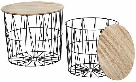 Pristatomas stalas iš metalas ir medie...