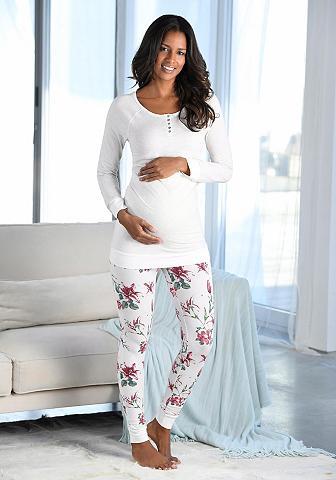 BUFFALO Pižama nėščiosioms su sagos ant iškirp...