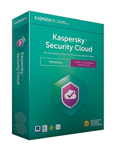 Software » Security Cloud Personal 3 G...