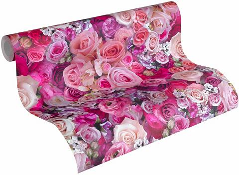 Tapetai »Urban Flowers 32722« floral