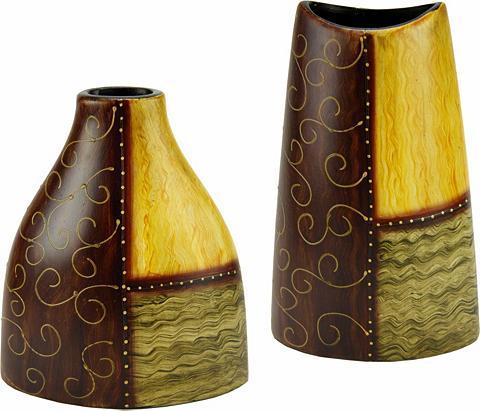 Home affaire Dekovase »Keramik-Vasen« (Set 2 vienet...