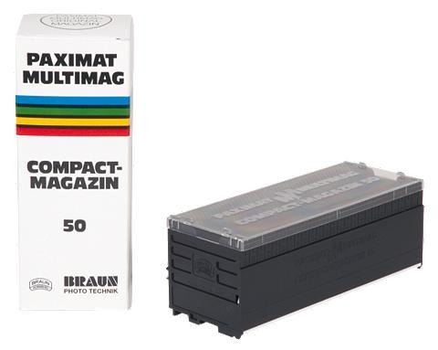 BRAUN PHOTOTECHNIK Diamagazin »1 Braun Paximat Compact 50...