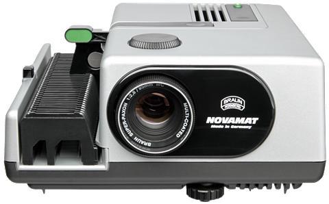 BRAUN PHOTOTECHNIK Diaprojektor »Braun Novamat E 150 28/8...