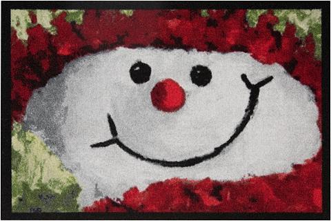 HANSE HOME Durų kilimėlis »Snowman« rechteckig au...