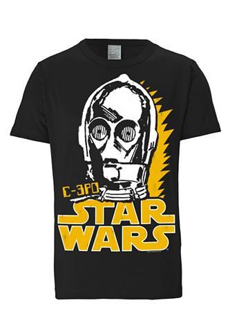 Vyriški marškinėliai »C-3PO - Krieg de...