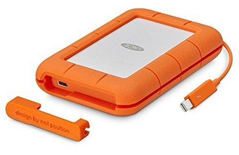 LACIE Rugged Išorinė duomenų laikmena + USB-...