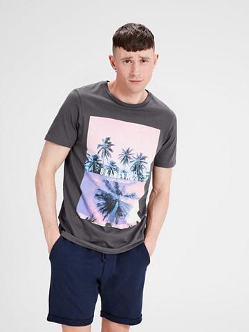 Jack & Jones raštuotas Marškinėliai