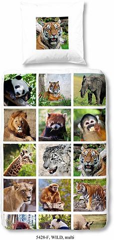 Vaikiška patalynė »Wild« su Tiermotive...