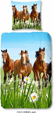 Vaikiška patalynė »Horses« su Pferdemo...
