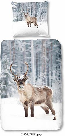 GOOD MORNING Patalynė »Deer« su elnio motyvas