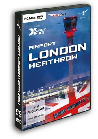 NBG X-Plane 10 Airport London-Heathrow (Ad...