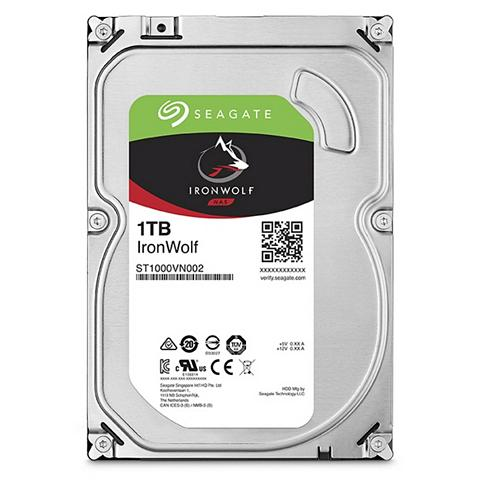SEAGATE Iron Wolf NAS HDD 1TB »ST1000VN002«