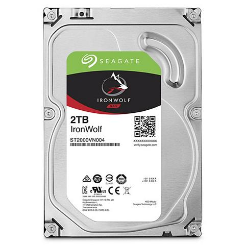 SEAGATE Iron Wolf NAS HDD 2 TB »ST2000VN004«