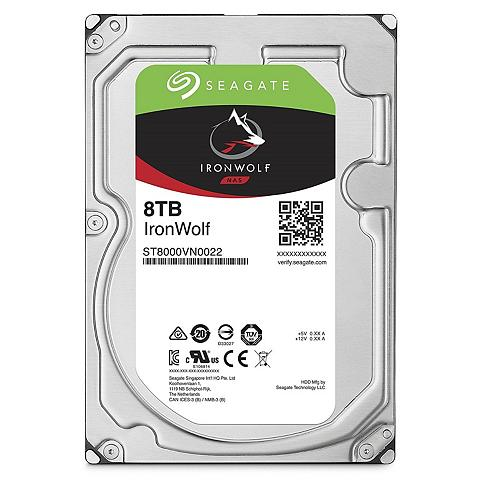 SEAGATE Iron Wolf NAS HDD 8 TB »ST8000VN0022«