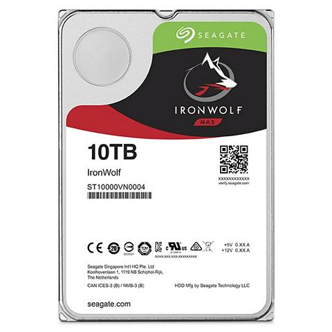 SEAGATE Iron Wolf NAS HDD 10TB »ST10000VN0004«...