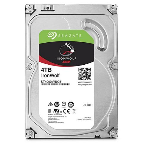 SEAGATE Iron Wolf NAS HDD 4 TB »ST4000VN008«