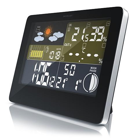 BEARWARE Funkwetterstation su LCD Farbdisplay i...