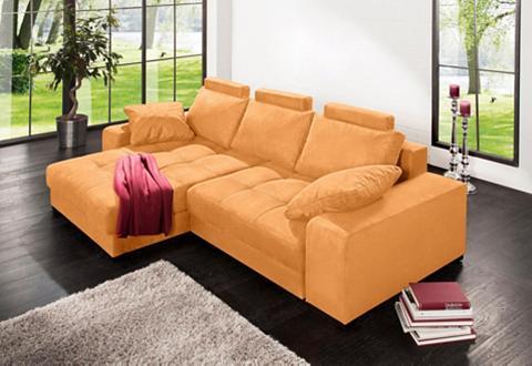 Kampinė sofa su Boxspringfederung »