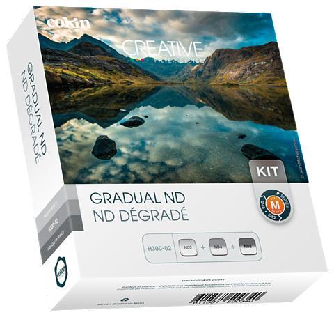 COKIN Pilkas filtras »H300-02 Gradual ND Kit...