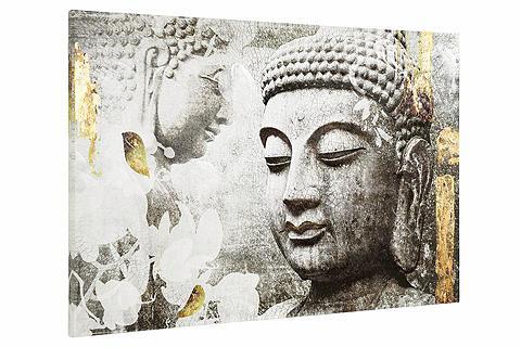Paveikslas Dekoracija Budos galva