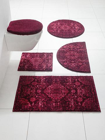 GRUND Vonios kilimėlis su minkštas Flor