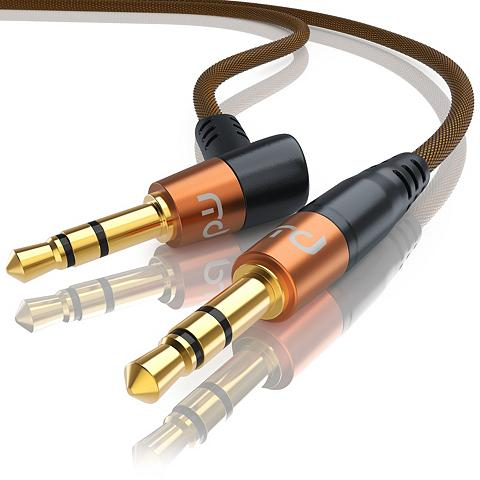 PRIMEWIRE Gewinkeltes 35mm AUX Audio Laidas »35m...