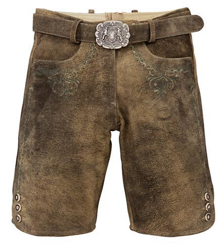 ALMSACH Odinės tautinio stiliaus kelnės trumpa...