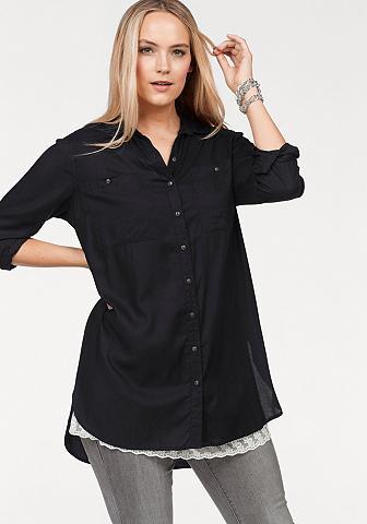Boysen's Ilgi marškiniai su tiefen Seitenschlit...