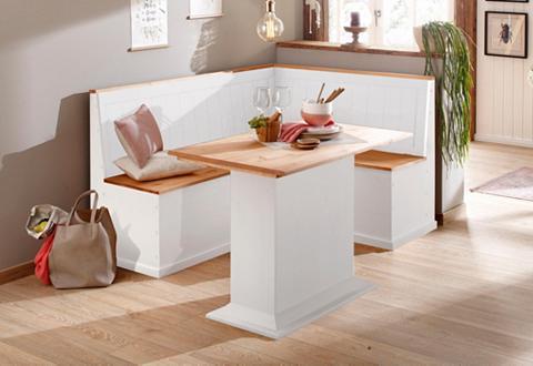 HOME AFFAIRE Kampinis virtuvės suolas su kėdėmis »S...