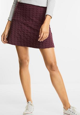 Trikotažinis sijonas su Struktur Lou