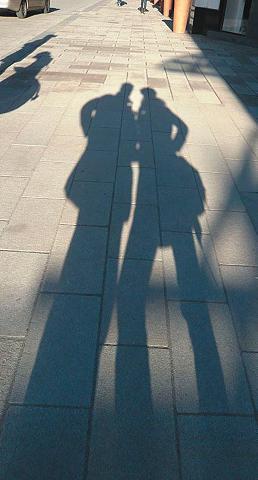 RASCH Fototapetas »Schatten« mehrfarbig (1-t...