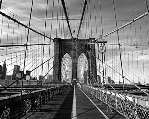 RASCH Fototapetas »Brücke« mehrfarbig (1-tlg...