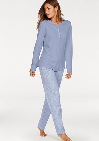 Pižama su kuklus gemusterter Šortukai