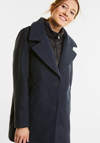 Wollmix paltas su intarpas