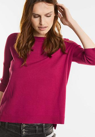 Oversize megztinis su Rippärmel