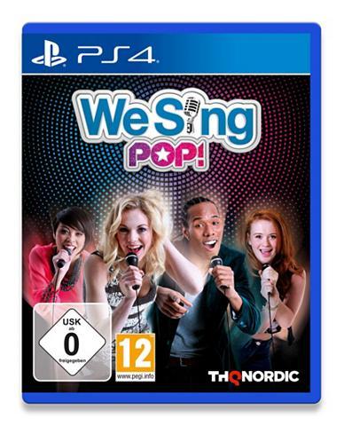Playstation 4 - Spiel »We Sing POP«