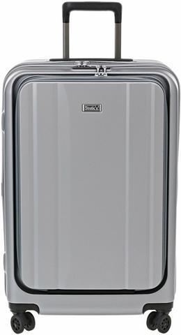 STRATIC Plastikinis lagaminas ant ratukų su 4 ...