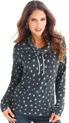 Megztinis su madingas žvaigždėtas rašt...