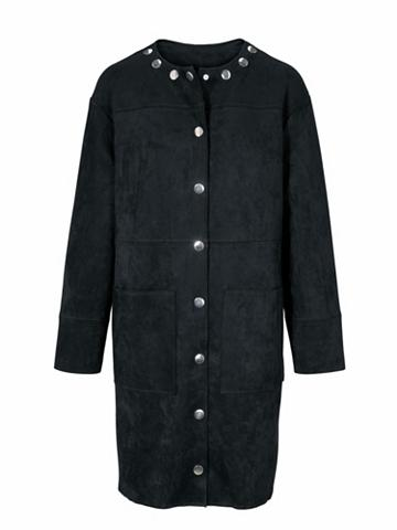 RICK CARDONA by Heine Dirbtinės odos paltas su verdeckter sa...