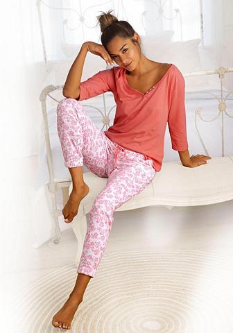VIVANCE DREAMS Pižama rinkinys (3-teilig) su gėlių ra...