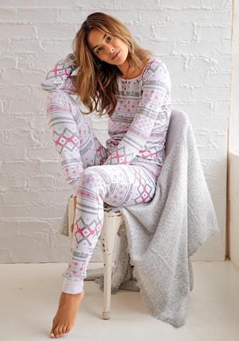 BENCH. Pižama im norvegiškas raštas su Sterne...
