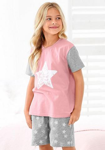 ARIZONA Mädchen pižama su Sternen raštas