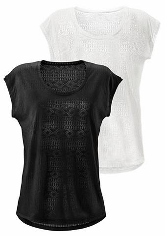 LASCANA Marškinėliai (2 vienetai)