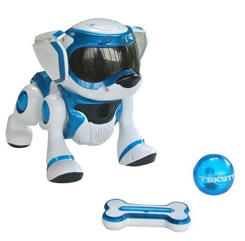 Interagierender Roboterhund su Sprachb...
