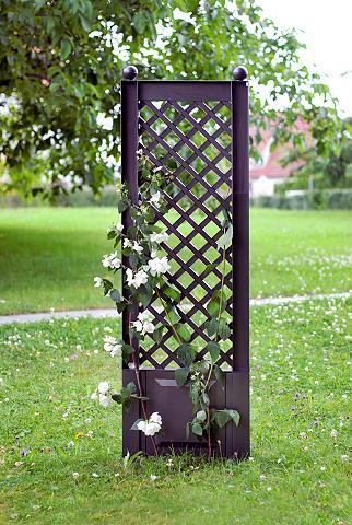Ažūrinė sienelė gėlėms »43x140 cm anth...