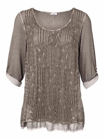 heine CASUAL Megztinis in Crochet-Strick
