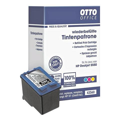 OTTOOFFICE STANDARD Rašalo kasetė ersetzt HP »C6657AE« Nr....