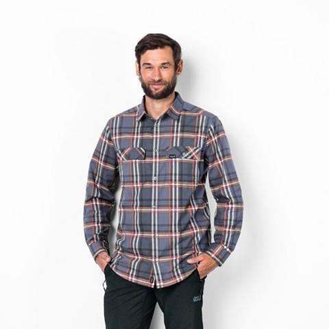 JACK WOLFSKIN Marškiniai »VALLEY Palaidinė MEN«